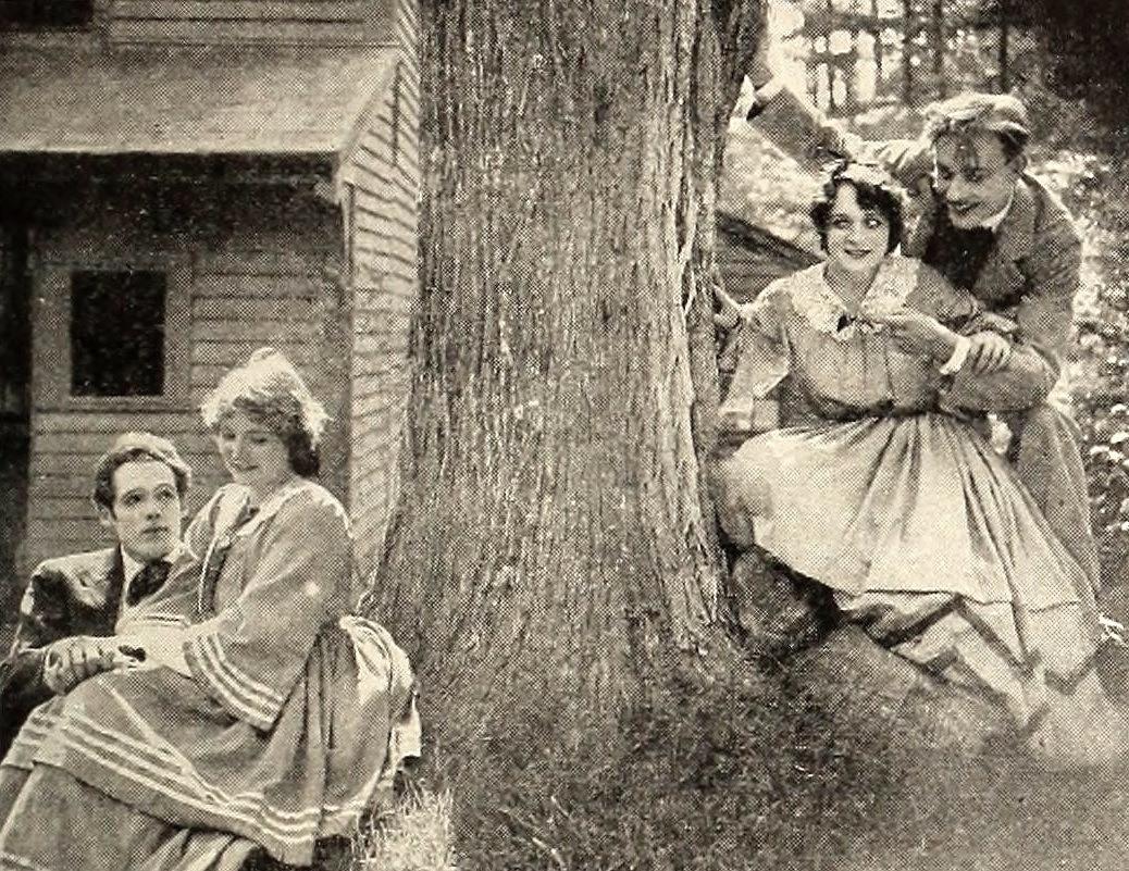 Fotografía de una escena de la película Mujercitas.