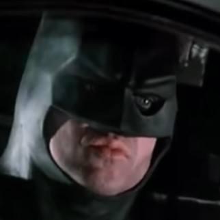 Escena de la primera película de Batman, en 1989.