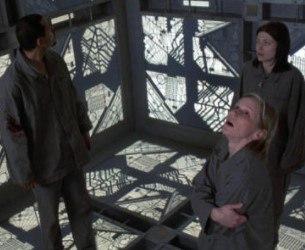 El cubo, película canadiense de suspense, terror psicológico y ciencia ficción de 1997, dirigida por Vicenzo Natali.