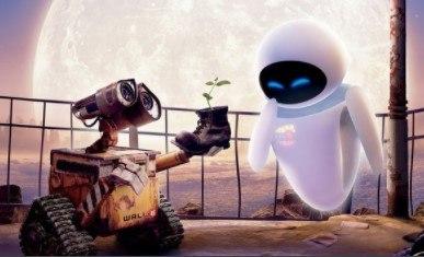 Las mejores películas de Pixar. En la imagen aparece un fotograma de la película Wall-e.