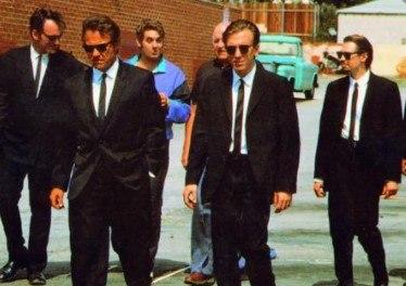 Escena de la película Reservoir Dogs, de Quentin Tarantino.